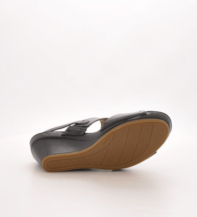 c4f715b3a Buy Clarks Rusty Style Black Leather black Shoes Online