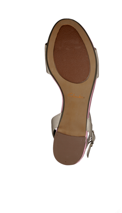 Clarks - Sharna Balcony Oyster Leather