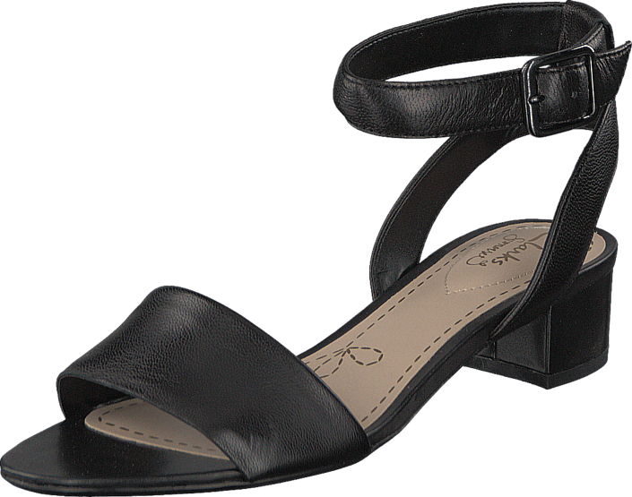 9a70959d927c Buy Clarks Sharna Balcony Black Leather black Shoes Online
