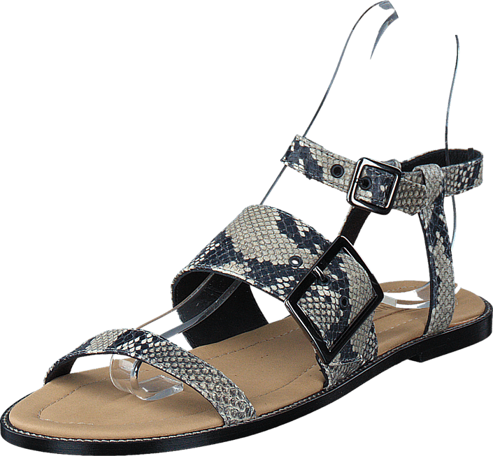 Hope - Port Sandal Grey Grey Snake