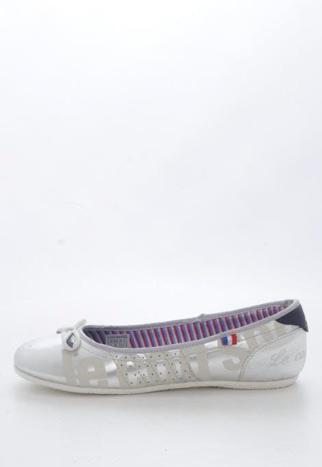 cc35c6d1ede2 Buy Le Coq Sportif Hyeres Ballerina Jr Silver purple Shoes Online ...
