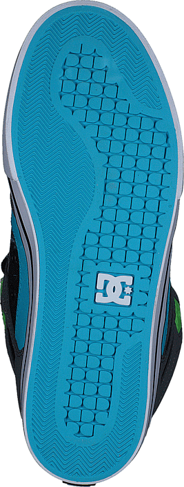 DC Shoes - Spartan High Wc Grey/Green/Blue