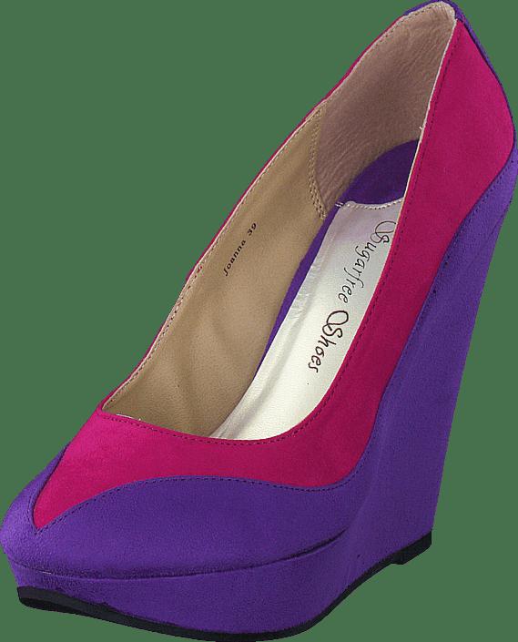 Purple Joanna Rosa Heels Sugarfree Shoes Sko Online Kjøp qt7Zf