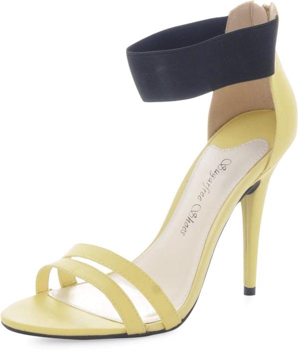 Sugarfree Shoes - Katinka Yellow