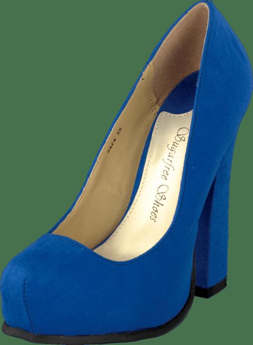 Sko Shoes Online Heels Blå Kjøp Sara Sugarfree n1g5xqxSB