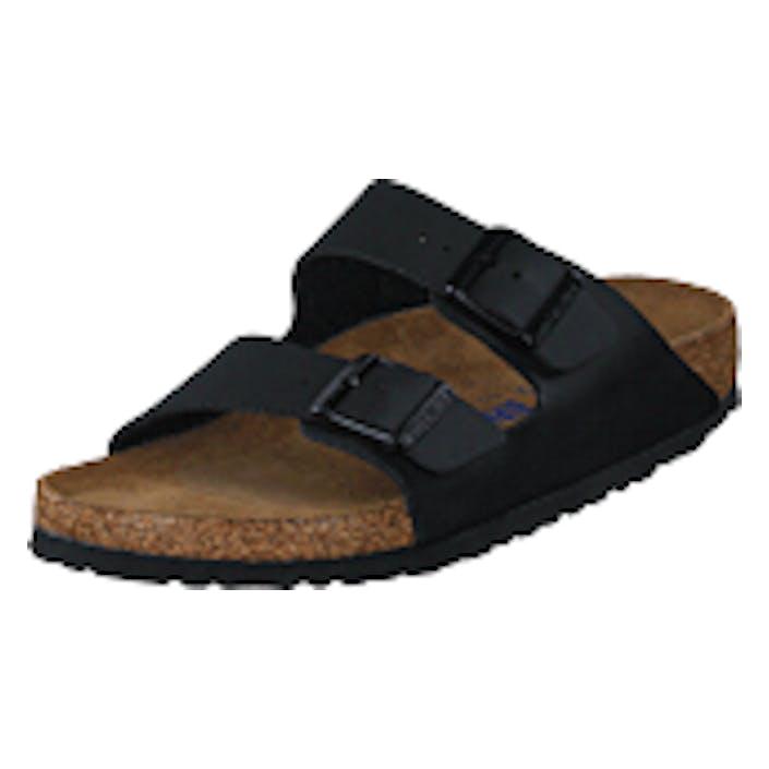 Birkenstock Arizona Slim Soft Black, Shoes, svart, EU 40