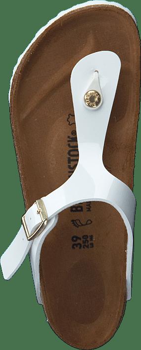 Birkenstock - Gizeh Regular Patent White