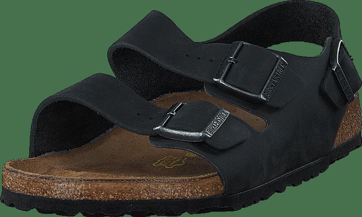 Birkenstock - Milano Regular Black Oiled Leather