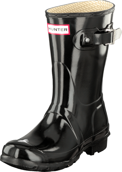 Köp Hunter Original Gloss Black Skor Online | FOOTWAY.se