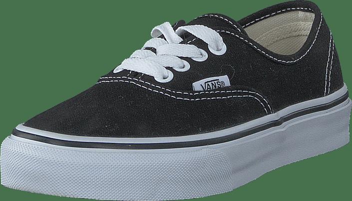 1b1901de2e Buy Vans K Authentic Black blue Shoes Online