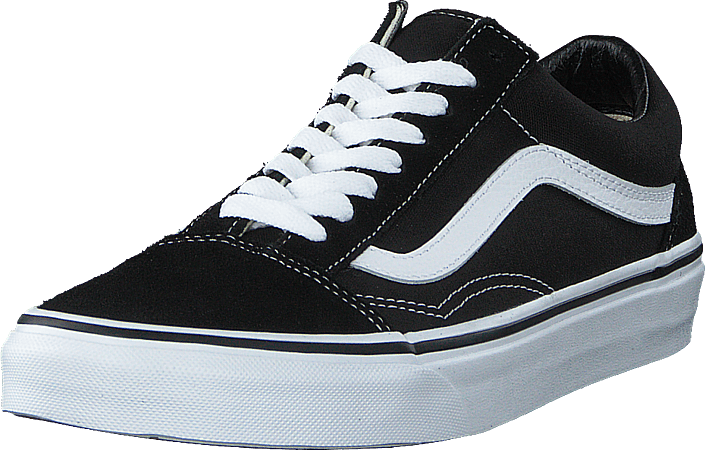 U Old Skool Black/White