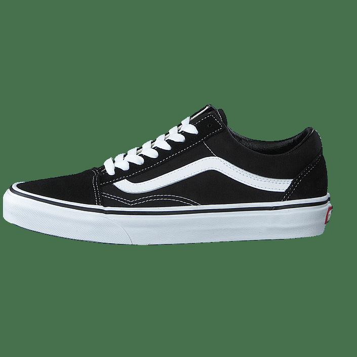 Acheter Vans U Old Skool BlackWhite Chaussures Online