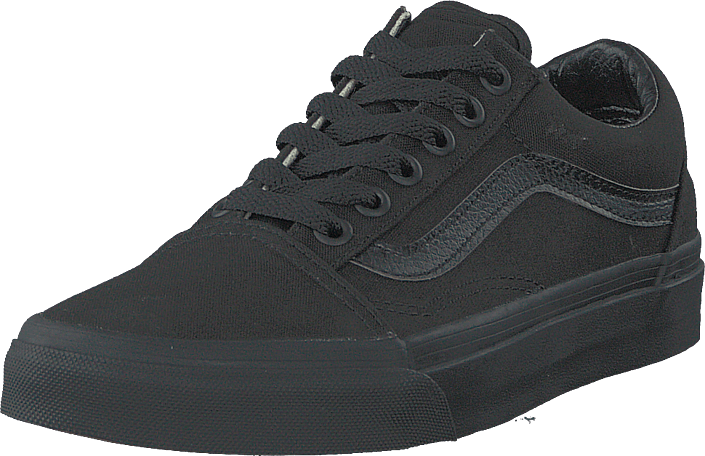 Vans - U Old Skool Black/Black (Canvas)