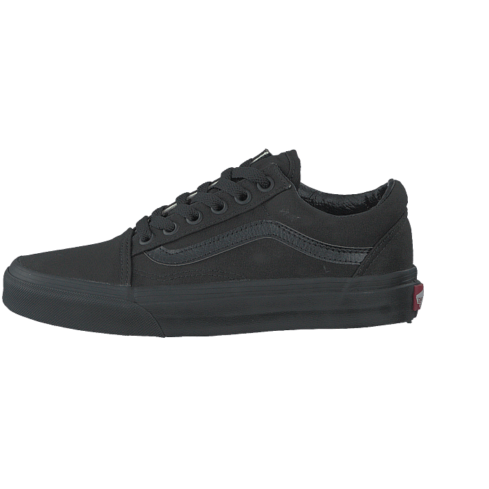 Old Og Køb Sko Online Black 03 Sneakers Sorte 07428 Vans Skool canvas U black Sportsko PPErq