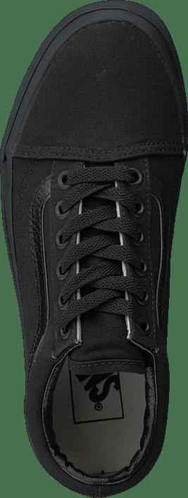 Vans U Old Skool Black/Black (Canvas) 215487793