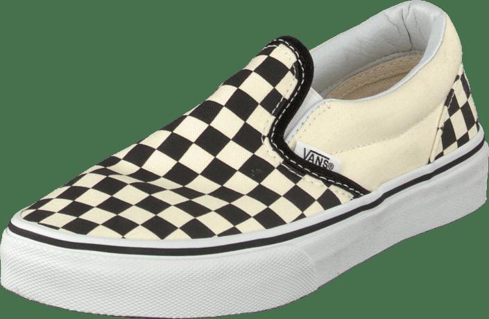 K Classic Slip-On Checkerboard Black