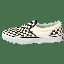 vans checkerboard slip on kinder