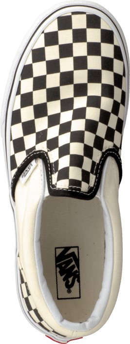 Vans - K Classic Slip-On Checkerboard Black