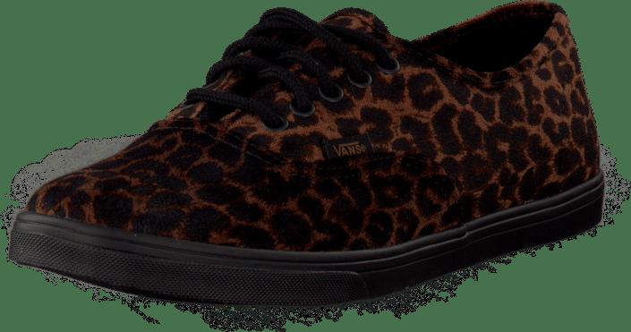 U Authentic Lo Pro Suede Leopard
