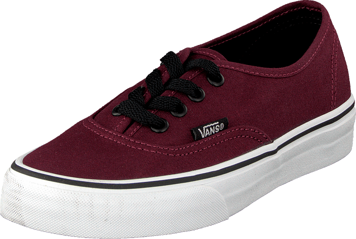 vans authentic port royale black