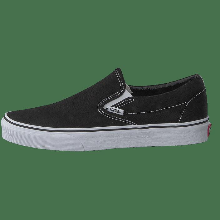 Sko U Sorte Flade on Black 07439 00 Online Slip Classic Vans Køb xgwFUqS0U