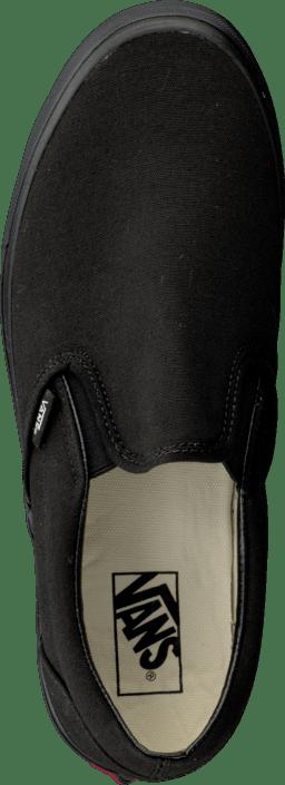 Flade Online Sko 01 Køb Slip black U Sorte Vans Black on Classic 07439 xw84vzBq