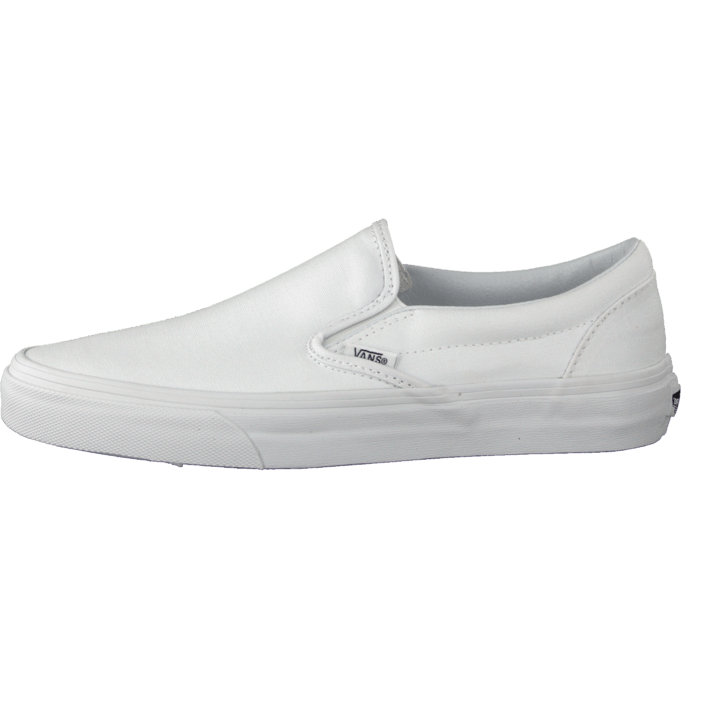 Sko Køb Classic Flade Vans Hvide White 05 Online True 07439 U Slip on 88r6wa