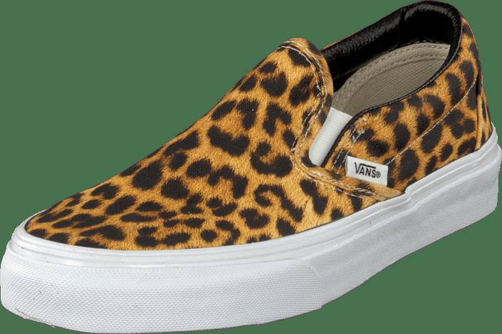 vans skor leopard