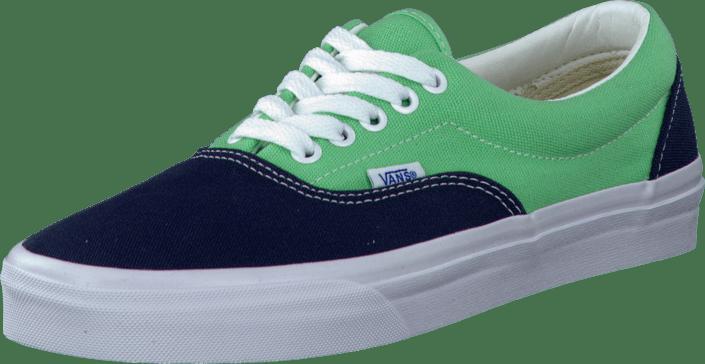 51d6ee4f395f Buy Vans U Era (Golden Coast) Blue Cabbage green Shoes Online ...