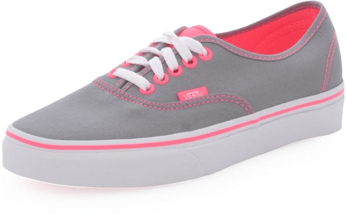 vans chaussures grey and pink