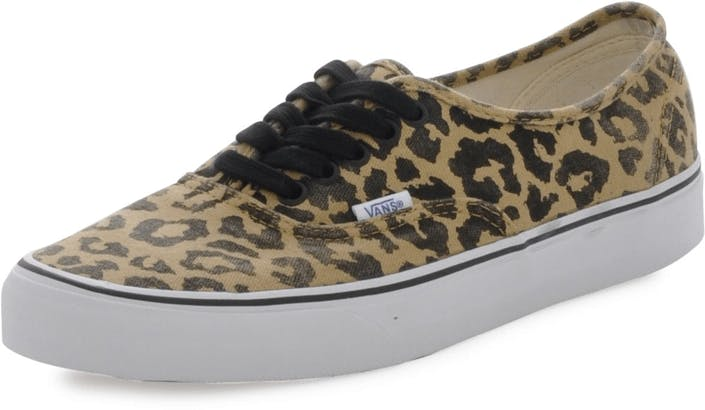 d7c8ae01a787 Buy Vans U Authentic Van Doren Leopard brown Shoes Online