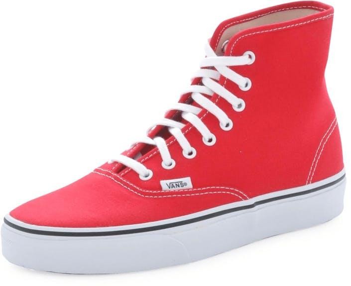 Buy Vans U Authentic HI True Red Shoes