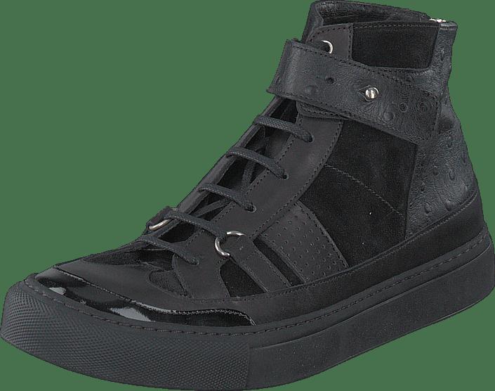 Snap Sneaker Black