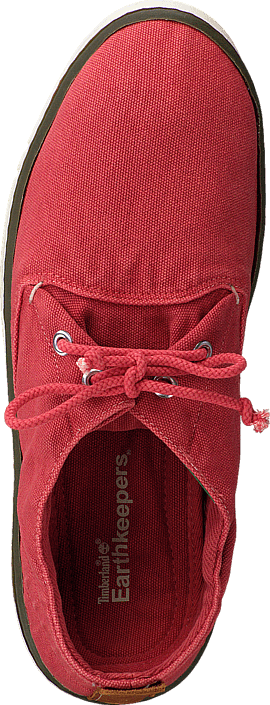 EK Handcrafted Fabric Oxford Washed Red Canvas