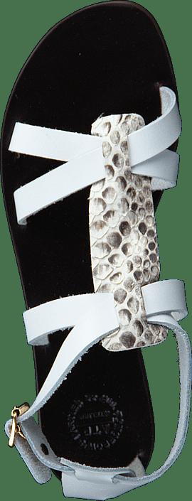 Kjøp Sandals Sko Yara Online Grå Snake Atp awrZ8a
