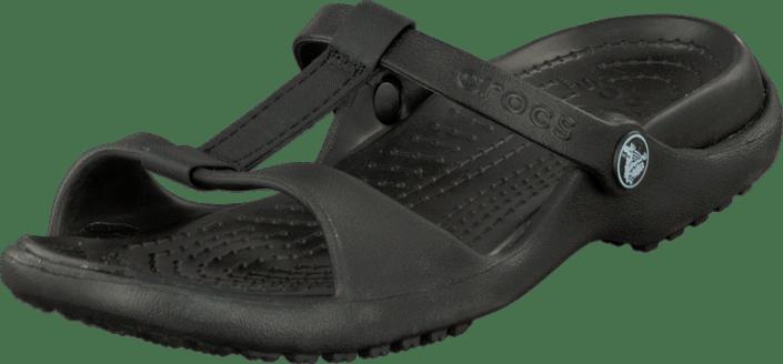 1a21238dfb62 Buy Crocs Cleo III Black black Shoes Online