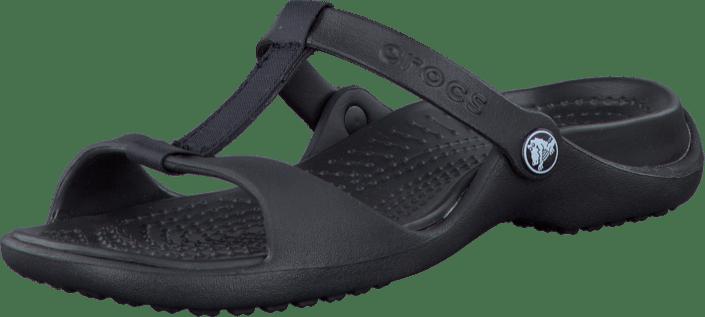 c9822c0ab2ab Buy Crocs CLEO III Black Black black Shoes Online