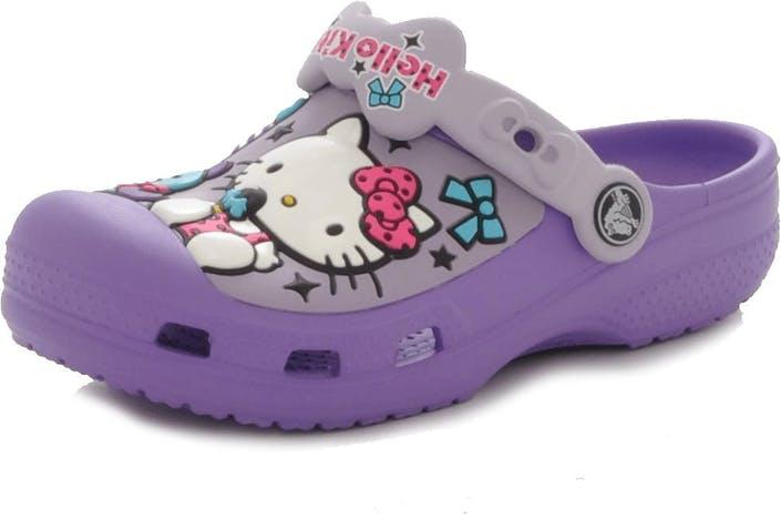 c6c84e02a4bdda Köp Crocs Hello Kitty Candy Ribbon Clog gråa Skor Online