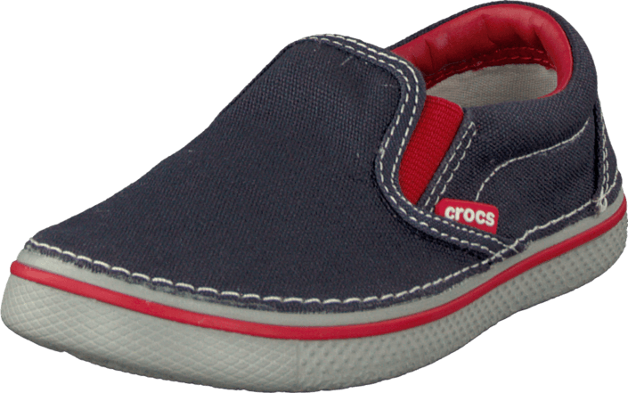 23ca15bf4319 Buy Crocs Hover Slip On Navy blue Shoes Online