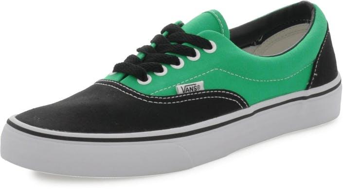 Buy Vans U ERA Black Bright Green Grey Shoes Online  6eaf8ac82f4f