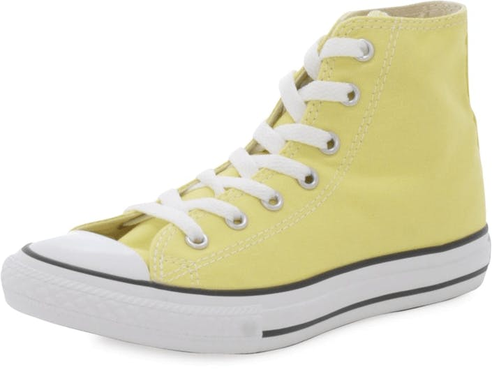 12f1bfeea1f9 Buy Converse Chuck Taylor All Star Hi Kids Neon Yellow grey Shoes ...