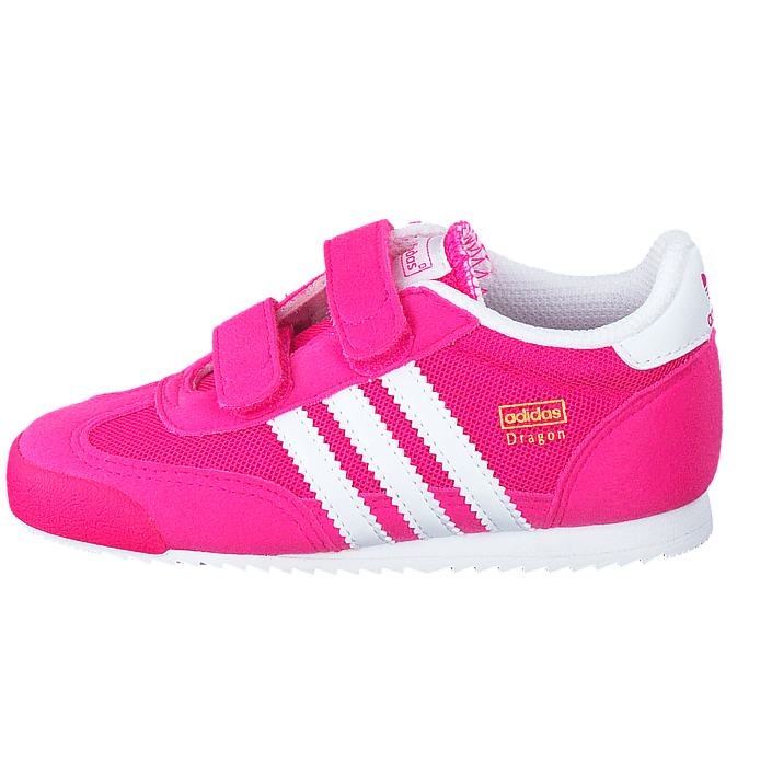 Kjøp adidas Originals Dragon J Shock Pink S16Ftwr White sko