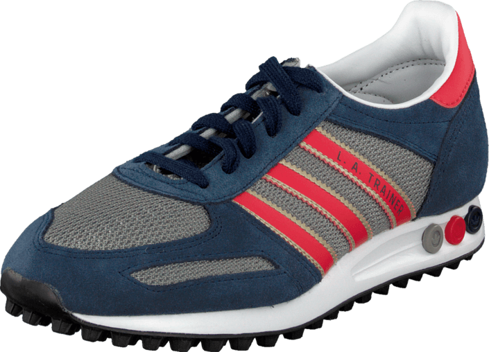 adidas Originals La Trainer NavyRedGrey Blå Sportsko