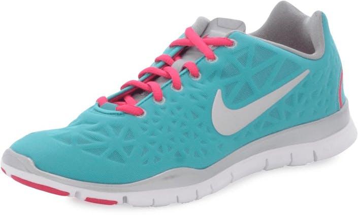 Kjøp Nike Wmns Nike Flex Trainer White Volt Turkis Sko