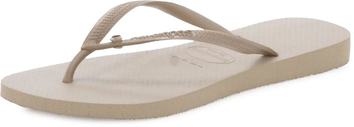 14851e407 Buy Havaianas Slim Crystal Glamour SW Sand Grey beige Shoes Online ...