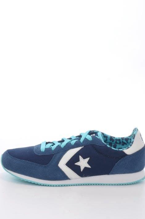 294961214cb553 Buy Converse Arizona Racer Leather Ox Athletic Navy Dark Denim Blue blue  Shoes Online