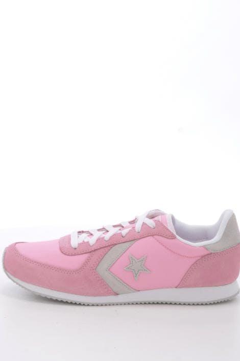 2de9dce07dfc Buy Converse Arizona Racer Leather Ox Prism Pink Cloud Gray White pink  Shoes Online