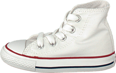 Small Star Canvas Hi White