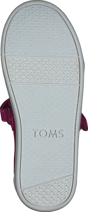 Toms - Mary Jane Fuchia Iridescent