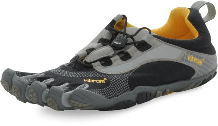 Buy Vibram Fivefingers Bikila Ls Black Coolgrey grey Shoes Online ... 224fadac7